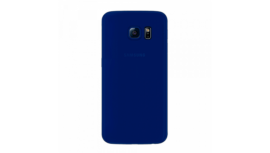 Накладка Deppa Sky Case+пленка Samsung G925F Galaxy S6 Edge Dark Blue