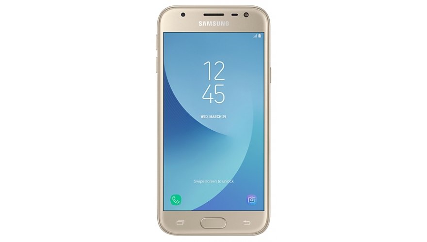 Смартфон Samsung Galaxy J3 (2017) SM-J330F/DS Gold (золотой) (RU)