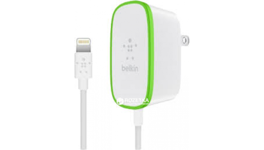 "СЗУ ""USB"" Belkin на 2 USB + Lightning 1.2m White"