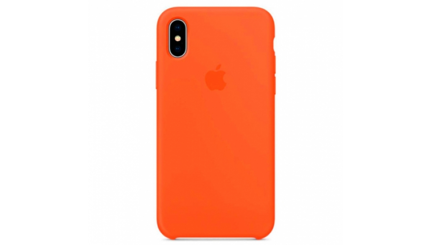 Накладка силикон Silicone Case iPhone Xr Nectarine
